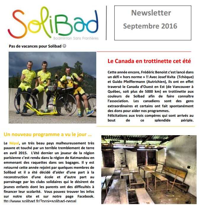 SolibadNewsletterSeptembre16